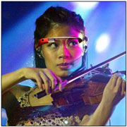 Muscians with google glass